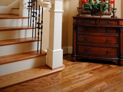 Calidad en pisos de madera escaleras decks y pergolas for Imagenes de escaleras de madera para interiores